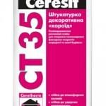 , Штукатурка декоративная «короед» от Ceresit