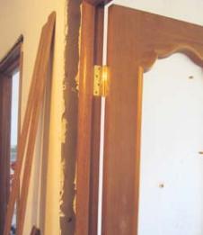 , Установка межкомнатных дверей