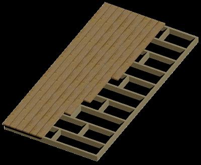 деревянная терраса дома