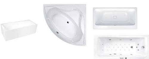ванны различных форм