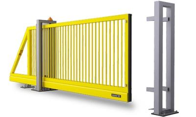 Ворота с откатным устройством