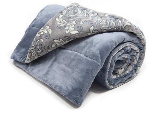 Теплое одеяло с ворсой