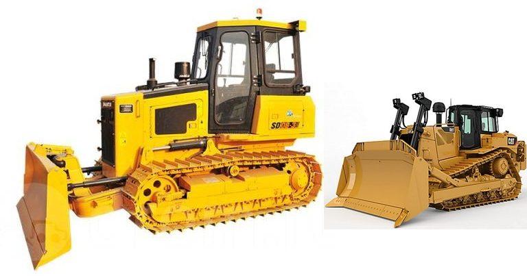 Два китайских трактора