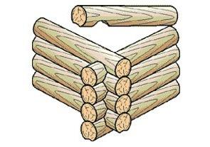 Срубы из кедра