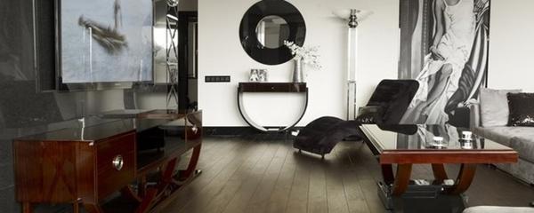 стиль оформления комнаты модерн