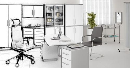 Проектирования и ремонт офиса
