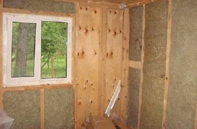 Утеплить дом из дерева