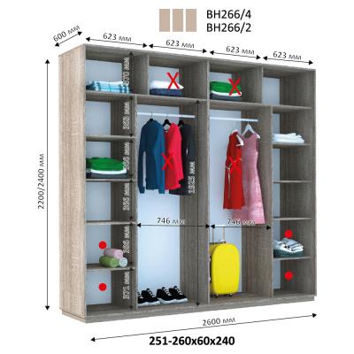 Шкаф размеры
