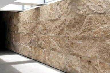 Травертин камень в интерьере