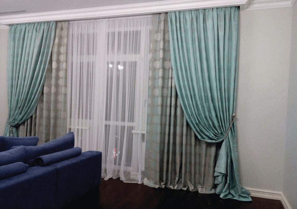 Штори окно